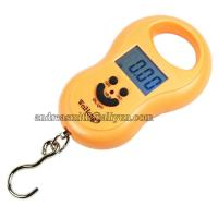 China ABS Plastic Hanging Gram Scale , Units Conversion Handheld Luggage Scale wholesale