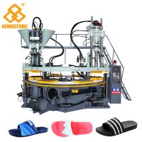 China Rotary Three Color PVC straps Making Machine For slippers wholesale