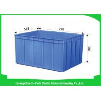 China Recycle Industrial Plastic Containers , Standard Euro Stacking Boxes Eco-Friendly wholesale