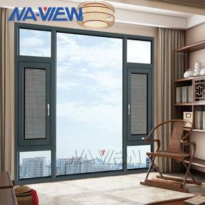 China outswing inswing Aluminium Casement Windows Sound Proof wholesale