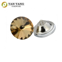 Buy cheap Crystal Round Diamond Acrylic Upholstery Buttons for furniture from wholesalers