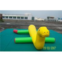 China Durable Inflatable Lake Blow Up Toys With 0.9mm PVC Tarpaulin Material wholesale