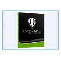China Graphic Art Design Software Coreldraw Graphics Suite X8 For Windows 7/8/10 wholesale