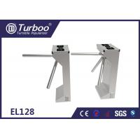 China Bidirectional Waist High Turnstile Mechanism Security Barrier Gate Entry Systems wholesale