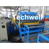 China Steel Double Layer Roof Roll Forming Machine / Roofing Sheet Roll Forming Machine wholesale