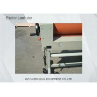 China Leyenda 1600mm Laminating Electric Cold Laminator Anti - Corrosion High Accuracy wholesale