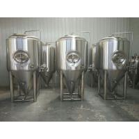 China Sus304 Stainless Steel Beer Fermenter 20bbl Capacity With 2 - 5 Bar Pressure wholesale