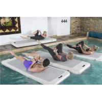 China Personalized Logo Aqua Yoga Mat Board With PVC Material And Drop Stitch wholesale