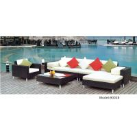 China 5 piece -weather resist PE wicker Beach swimming pool sofa club chair -9002 wholesale