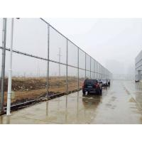 China Hot Dipped Galvanized Powder Coated Chain Link Fence For Commercial / Industrial Projects wholesale