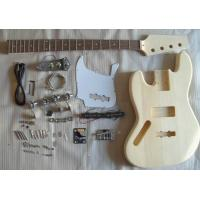 China DIY Four String Left Handed Bass Kits / Unfinished Electric Bass Guitar Set AG-BS-L wholesale
