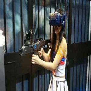 Buy cheap Black Color Battlegrounds Free-Roam  Vr Arcade Machines / VR Shooting Simulator from wholesalers