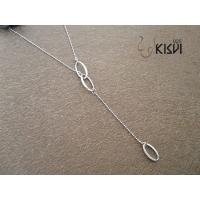 China fashion jewelry 925 sterling silver necklace W-VD182 wholesale