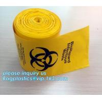 China Garbage Autoclavable Polypropylene Bags PLA Biodegradable Clinical wholesale