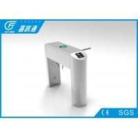 China Customized Infared Sensor 3 Arm Turnstile , Playgrounds Pedetrian Drop Arm Gate wholesale