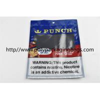 China Plastic Self Sealing Humidity Fresh Cigar Packaging Bag Resealable Ziplock Open And Close wholesale
