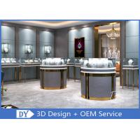 China 3D Design Store Jewelry Display Cases In Custom Size Logo / Jewellery Shop Furniture wholesale