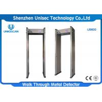 China Multi Zones Portable Metal Detector UB600  LCD Display For CCTV Security System wholesale