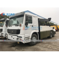 China Police Riot Barrier Breaking 20Ton Full Turning 360 degree Tow Truck wholesale