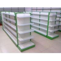 China Shopping Supermarket Two Sides Shelf  Gondola / Display Shelving wholesale