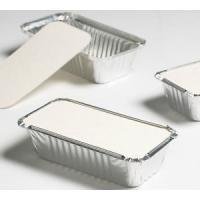China Aluminum Foil Container Lid for takeaway food packaging on sale