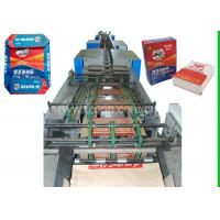 China 50kg Multi - Wall Tea Food Paper Bag Making Machine With Automated Servo System wholesale