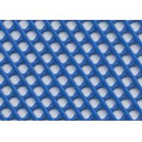 China Warp Knitted Craft Plastic Mesh , Plastic Square Mesh With Multi Color wholesale