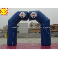 Buy cheap Blue Inflatable Arch Incorporate Various Styles / Sizes For Sporting Activities product
