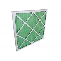 China Low Resistance Pleated Panel Air Conditioner Air Filters HVAC For Primary Filtration wholesale