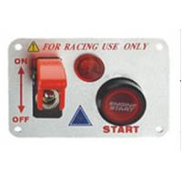China 12 Volt Power Speediness Racing Car Switch Panel With Red Indicator Light wholesale