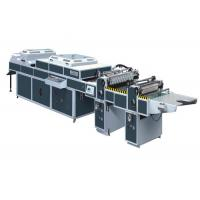 China UV Thick / Thin Paper Threerollers Uv Coating Equipment Automatic Two Coaters SDSG-1200C wholesale