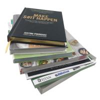 China Hardcover Custom Cookbook Printing Full Color Brochure Printing ISO9001 Approved wholesale