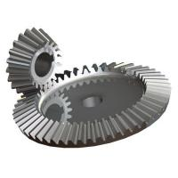 China 40Cr Material Precision Machined Parts Bevel Gear Set For Transmission wholesale