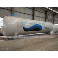 China Cylinder 40 Tons LPG Storage Tank For Gas Filling Plant wholesale