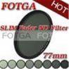 China Variable Neutral Density 77mm Fotga Digital SLR Camera Fader ND Filter ND2 to ND400 wholesale
