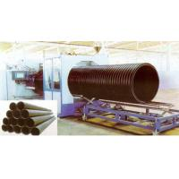 China Hollow Wall HDPE Pipe Extrusion Machine , 200 - 2000mm Large Diameter wholesale