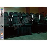 Quality Snow Effect 220V Mobile 5D Cinema System , Luxury 5D Mobile Seats for sale