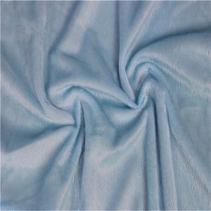 Comfortable Soft Toy Making Fabric 1.5mm Teddy Bear Fur Fabric
