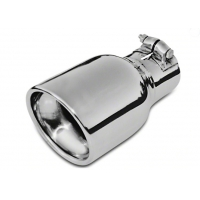 China Polished Clamp On 4 Inch SS304 Exhaust Pipe Tips wholesale