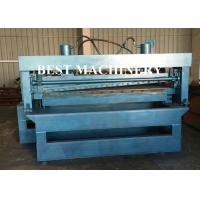 China Custom Roll Forming Machine 1mm - 3mm Steel Slitting and Cutting Length wholesale