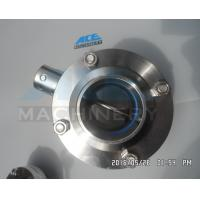 China Welded Sanitary Stainless Steel Butterfly Valve (ACE-DF-7K) wholesale