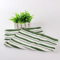 China White And Green Kitchen Tea Towels , Printed House Kitchen Dish Cloths on sale