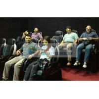 China Folded comfortable 3D movie theater chairs , Movie theater furniture for kids cinema wholesale