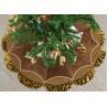 Buy cheap Customized Modern Christmas Tree Skirt , Polyester / Velvet Christmas Tree from wholesalers
