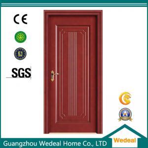 China Bi-folding Wooden Door Interior door Yellow Color For Room/Hotel/Villa In High Quality wholesale