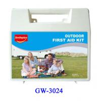 China Middle size Plastic First Aid Box for Kids , Outdoor , Home , Pets , Office wholesale