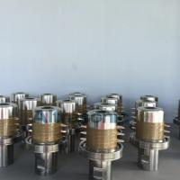 China Customized Titanium Alloy Material Ultrasonic Converter With 6pcs Ceramic 20Khz wholesale