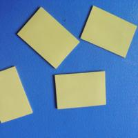 Thermal Silicone Foam Rubber Gap Filler for Cooling Components / LED TV Yellow Soft Compressible