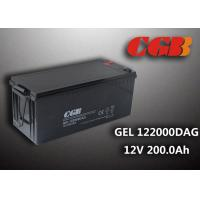 China 12V 200AH non spillable sealed rechargeable battery , GEL Military Energy Storage Battery wholesale