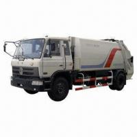 China Compressive Garbage Truck with Latest Design Technology from Japan and Air-proof Completely Dustbin wholesale